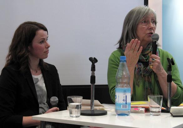 Gunnhild Øyehaug und Ebba D. Drolshagen