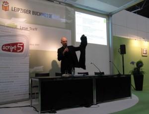 Buchmesse Leipzig - Oliver Uschmann