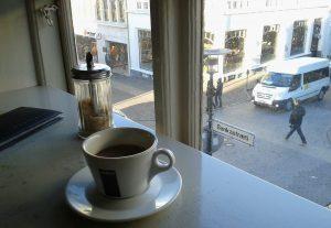 Kaffee in Reykjavík, 2012