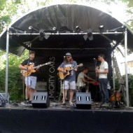 Mighty Oaks - Soundcheck, Thalia Gardens Festival 2013