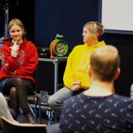 Music Nonference: Frankie Dunn (i-D), Salka Valsdóttir (Reykjavíkurdætur), Gaukur Grétuson (GKR), Leigh Lust (Pledge Music)