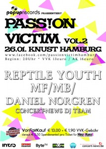 Popup Records präsentiert: Passion Victim Vol.2