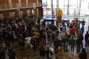 Jacob Bundsgaard, der Bürgermeister von Aarhus, heißt die Delegierten im Rathaus willkommen (Foto: Allan Niss)