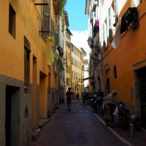 Vieille Ville - in der Altstadt von Nizza